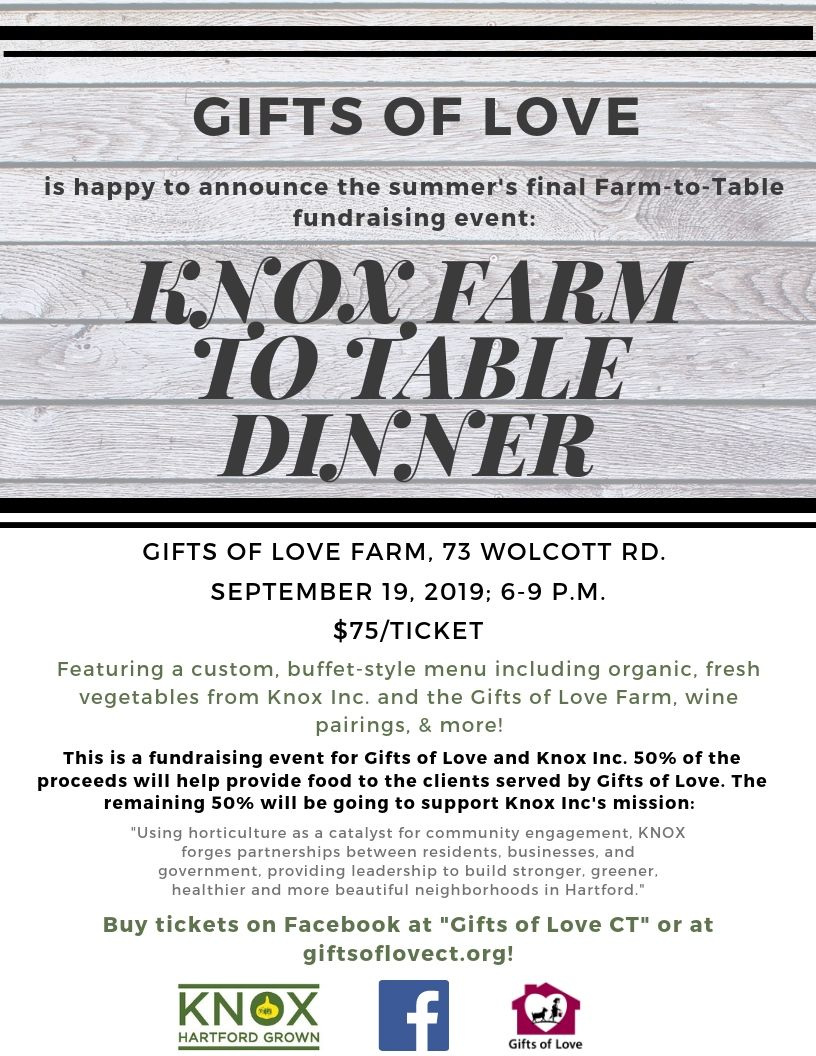 Amazing Gifts Of Love Knox Farm Farm To Table Dinner Gifts Of Love Download Free Architecture Designs Scobabritishbridgeorg